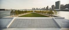 Four Freedoms Park - Landscape: Four Freedoms Park is a 4-acre memorial dedicated to former President Franklin D. Roosevelt in his home state of New York. The memorial was conceived 4 decades ago by famous architect Louis Kahn, who unfortunately did not get to see his vis...