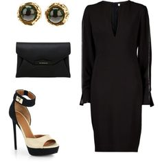 """""""GIVENCHY"""" by amanda-chastinet on Polyvore"""
