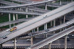 Photo of the Week: China Builds a 20-Road Interchange from Hell   WIRED