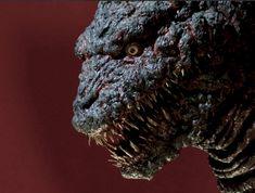 Anamatronic Godzilla built for SHIN GODZILLA (2016) but unused in film. Godzilla Suit, King Kong, Resin Art, Sculpture Art, Horror, Sci Fi, Statue, Diorama, Orlando