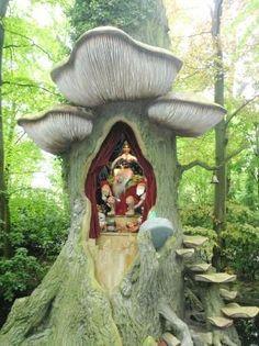 #WeInteresting Fulfill your magical fascinations with the mythical creatures, specifically fairies at Tinker Nature Park, NY #ThrillThrush #MangoTraveler #TinkerNaturePark #NewYork #AliceInWonderland #MiniatureHouses #FairyPark #FairyTales #FairyWorld #MythicalCreatures #History