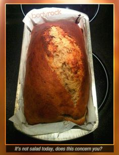 High Protein banana bread:        3 - 4 ripe bananas  2TBS vanilla extract    1/3 cup low fat greek yogourt     ¾ crushed walnuts    2 to 3 TBS chia seeds    2 - 3 TBS of ground flax seeds    Pinch of salt    2 -3 eggs    2 cups coconut flour (or 1 c. protein powder and 1 cup of coconut flour)     ½ cup of almond flour (almond meal)    ½ almond milk or  coconut oil
