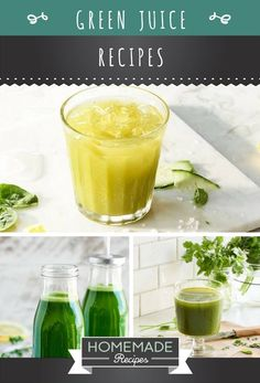 Bottoms Up for These Green Juice Recipes for Weight Loss | https://homemaderecipes.com/green-juice-recipes-for-weight-loss/