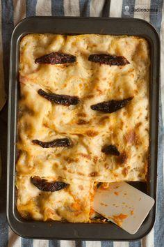 lasagna z dynią