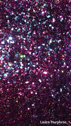 Glitter phone wallpaper colorful sparkle background pink purple blue glittery