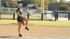 Softball Pitching Tips: Generating leg power - Amanda Scarborough