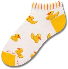Rubber Ducky Mini Ped Sock. Yessss!!