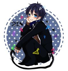 okumura rin | Tumblr Rin Okumura, Blue Exorcist Anime, Ao No Exorcist, Otaku, Fox Art, Twin Brothers, Manga, Cartoon, Anime Stuff