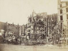 rue Royale, photographie d'Alphonse Libert, Les ruines de Paris et de ses environs, 1870-1871, BNF/Gallica Rue Royale, Paris, 1871