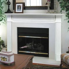 Pearl Mantels Berkley Wood Fireplace Mantel Surround - Fireplace Surrounds at Hayneedle