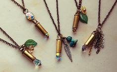 Bullet shell & crystal trinkets