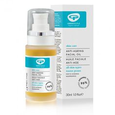 Anti Ageing Facial Oil 30ml | Green People Natural, Organic Facial Oil