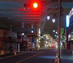夜散歩のススメ「蓮根駅、大スパンガード下」東京都板橋区