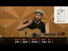 Video aula de violão com o Philippe Lobo do Cifra Club sobre o Campo harmônico da escala maior natural – Tétrades