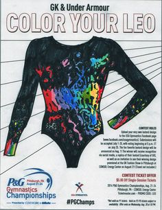 Please vote for this entry in GK & Under Armour Color Your Leo contest!! Hey I'm asking a moment of your time to please go and vote for Sofia's entry she submitted for the design your own leotard contest for GK & Under Armour Color Your Leo contest! She loves gymnastics and drawing, so this was a very exciting thing for her to do!! If you click the link and you should see a tab to vote, I really appreciate it! Thank you (you also have to scroll to the top and like their page)