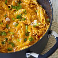 One Pot Cheesy Chicken Pasta - Yellow Bliss Road