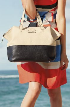 Color Block. Love this bag!