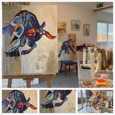 Die Entführung Europas – Marlene Schaumberger Bathroom Organisation, Painting, Art, Europe, Greek Mythology, Art Background, Painting Art, Kunst, Paintings