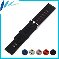 >> Click to Buy << Silicone Rubber Watch Band 22mm for Cartier Watchband Strap Wrist Loop Belt Bracelet Black Blue Red  Spring Bar #Affiliate