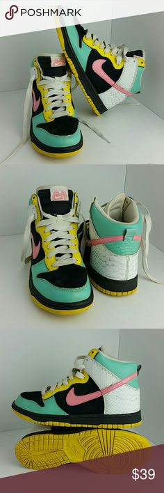 NIKE 6.0 HI TOPS WOMEN SHOES VERY CLEAN INSIDE-OUT   SKE # NS NIKE Shoes Athletic Shoes