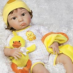 Isn't she adorable? Don't you just want to take her in your arms and cuddle her?– Lifelike Baby Dolls For Adults