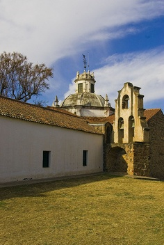 View on the Iglesia de Jesus Maria, in Corboba province, Argentina. Around Alta Gracia, you'll find some jesuit estancias from the 17-18th century, mostly World Heritage Sites.