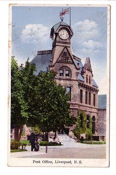 Post Office, Liverpool  Nova Scotia, International Fine Art