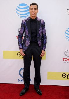 PASADENA, CA - FEBRUARY 11: Actor Marcus Scribner arrives at the 48th NAACP Image Awards at Pasadena Civic Auditorium on February 11, 2017 in Pasadena, California.  (Photo by Gregg DeGuire/WireImage) via @AOL_Lifestyle Read more: https://www.aol.com/article/entertainment/2017/02/12/bafta-awards-2017-red-carpet-arrivals/21712310/?a_dgi=aolshare_pinterest#fullscreen