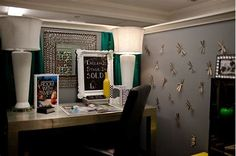 Image result for Cute Cubicle Decorating Ideas Using Curtain