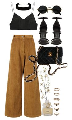 """Untitled #9153"" by nikka-phillips ❤ liked on Polyvore featuring Rachel Comey, Alexander Wang, Chanel, Marc by Marc Jacobs, Forever 21 and Pier 1 Imports"