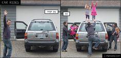 Single Guy vs Dad in Car Rides