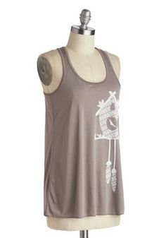 Trail as Old as Time Top in Clock, #ModCloth