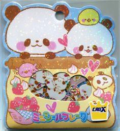 Crux Panda Cooking Sticker Set Sack Pack #1 (IP0153)