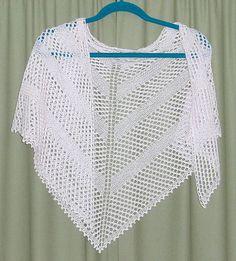 Simple Yarn-Over Shawl By Mary Joy Gumayagay - Free Knitted Pattern - (ravelry)