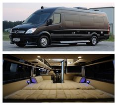 Weekender Mercedes Benz Sprinter RV Camper Van Midwestautomotivedesigns