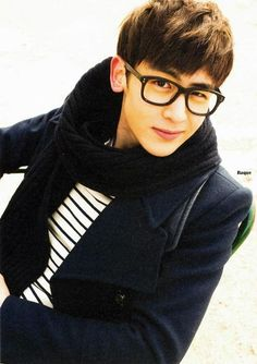 He's so cute! This is Nichkhun from 2PM.