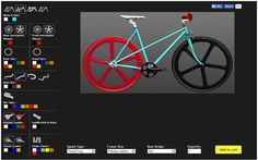The Fixed Gear World: Customize your bike with the Single Bikes' online tool