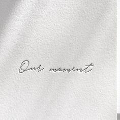 Letterpress hand lettering. Wedding words by Inku Press.