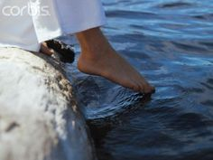 """So now I put one foot in front of the other, taking the first step. The soles of my feet rest in the waters. """"And now why do you wait? Rise and be baptized."""" I am reborn. I see my reflection in the water as in a mirror and see that """"all things have become new."""" The waters part and there is dry land before me. It is nowmy choice to walk across."""