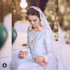 Shadi Dresses, Pakistani Dresses, Stylish Dress Designs, Stylish Dresses, Formal Dresses, Bridal Looks, Bridal Style, Beautiful Bride, Beautiful Dresses