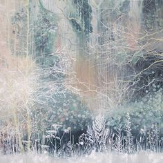 Let the Mystery Be.... Painting by Laura Cobden.