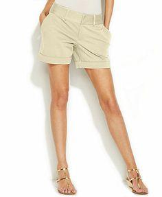 INC International Concepts Cuffed Shorts
