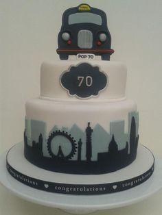 London Cabbie, taxi cake
