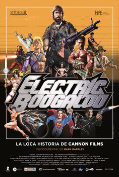 2014 - Electric Boogaloo, la loca historia de Cannon Films - Electric Boogaloo The Wild, Untold Story of Cannon Films - tt2125501