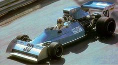 1974 Monaco GP, Monte Carlo. Chris Amon in the Amon AF101-Ford  qualified 20th but missed the start with mechanical problems.