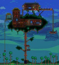 mi casa del arbol ,un poco comun  jejeje, ahora que una casa en el infierno ....vaya no es mala idea