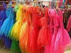 Vestidos arco iris