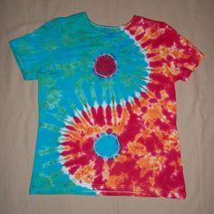 How to Tie Dye a Yin Yang Design - Video tutorial