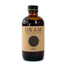 DRAM Black Bitters   Cocktail Bitters, Colorado Herbal Extracts, Teas   DRAM Apothecary