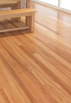 It's gorgeous! Pay a visit to these 8 innovations all relating to Timber Flooring, Hardwood Floors, Flooring Ideas, Spotted Gum Flooring, Entry Doors, New Homes, Indoor, Room, Feature Walls